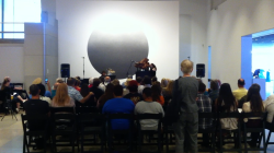 A scene from last year's Opus I concert at Phx Art Museum (photo courtesy ASU SCI)