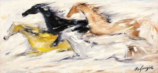 """""""Free as the Wind"""" oil on canvas by DeGrazia (1961; image courtesy of the DeGrazia Foundation)"""
