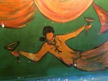 Detail of larger DeGrazia mural (image: K Becker)